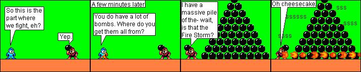 A Massive Bomb Stack