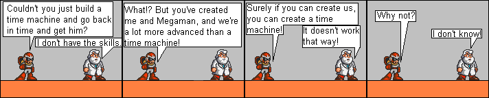 Dr. Light Doesn't Know